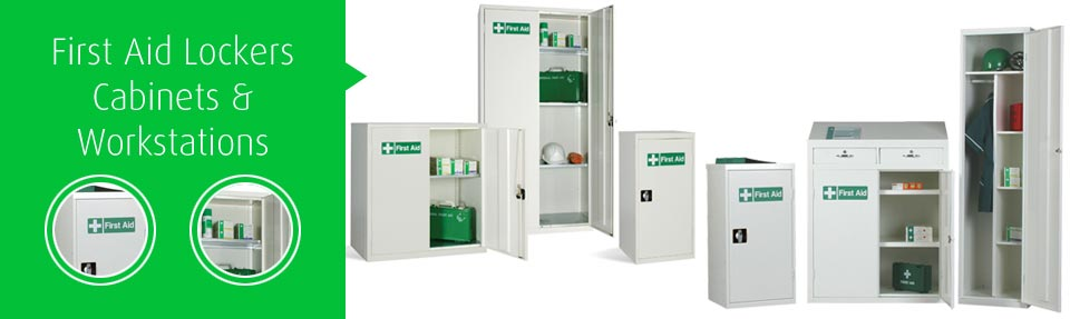 First Aid Lockers & Cabinets