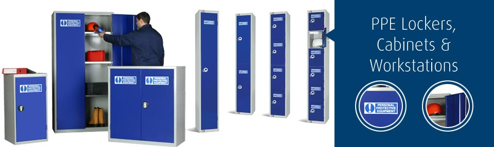 PPE Lockers & Cabinets